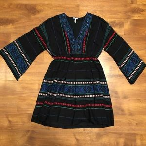 Joie Embroidered Dress